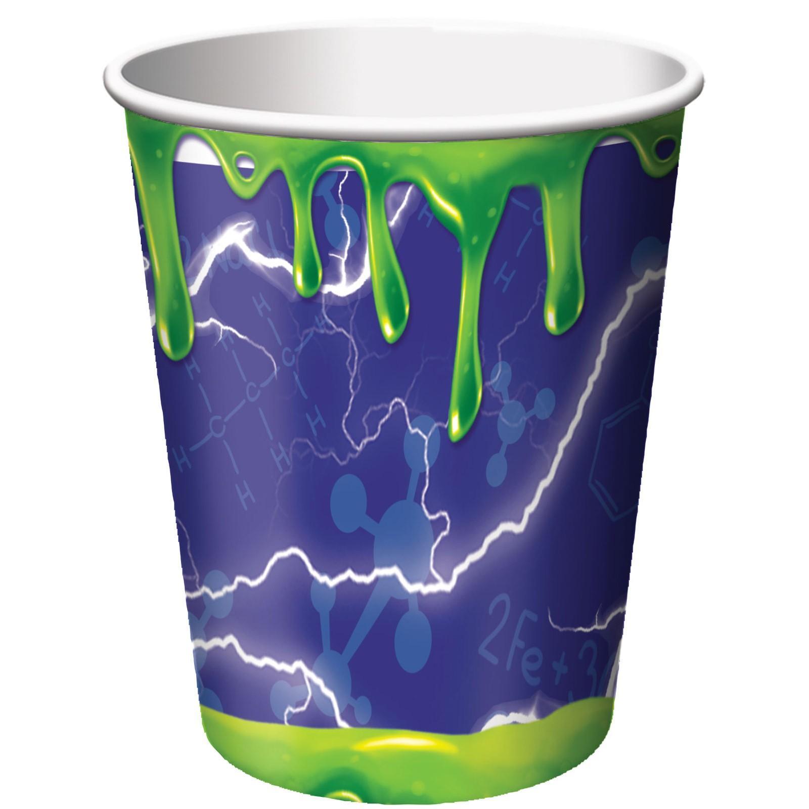 Mad Scientist 9oz. Paper Cups (8)
