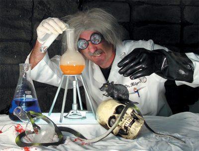 Mad Scientist Lab Kit Halloween Prop
