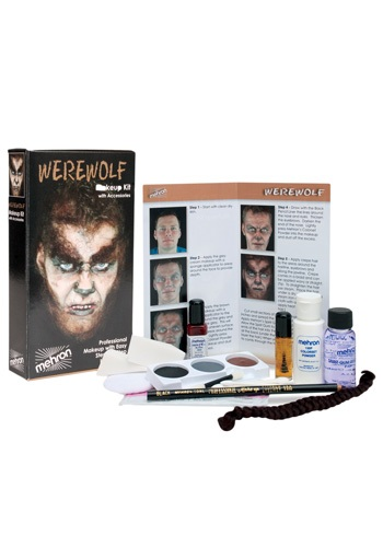 Mehron Werewolf Makeup Kit