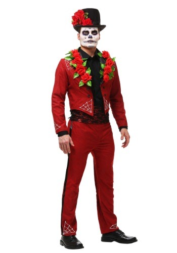 Men's Day of the Dead Costume