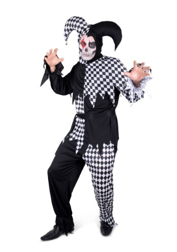 Men's Evil Jester Costume