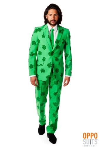 Men's OppoSuits Green St. Patrick's Day Costume Suit