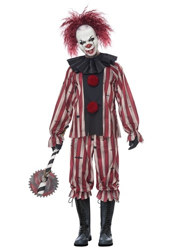 Nightmare Clown Costume for Men
