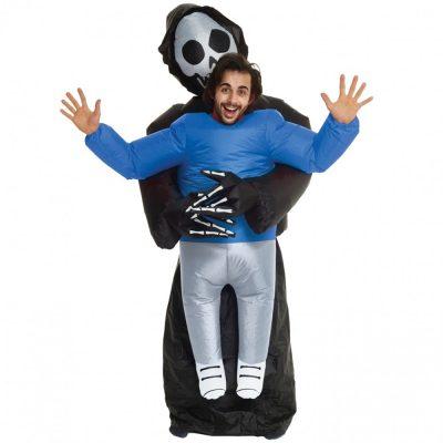 Pick Me Up Grim Reaper Inflatable Adult Unisex Costume