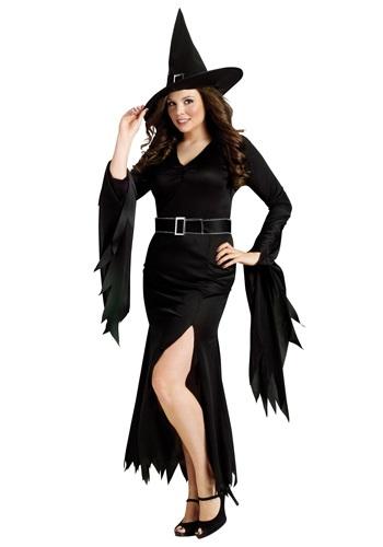 Plus Gothic Witch Costume