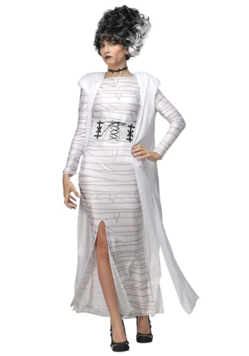 Plus Size Bride of Frankenstein Costume for Women