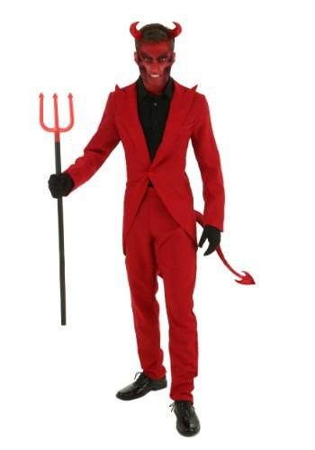 Plus Size Red Suit Devil Costume