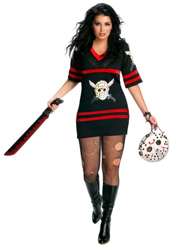 Plus Size Sexy Jason Voorhees Costume