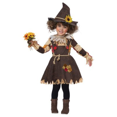 Pumpkin Patch Scarecrow Dress Toddler Costume