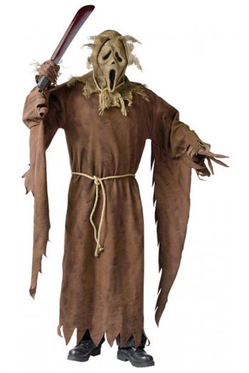 Scarecrow Ghost Face Adult Mens Costume