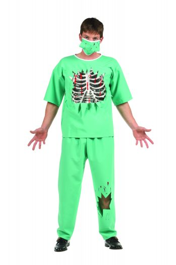 Scary E.R. Male Doctor Teen Costume