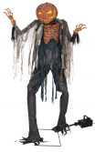 Scorched Scarecrow With Fog