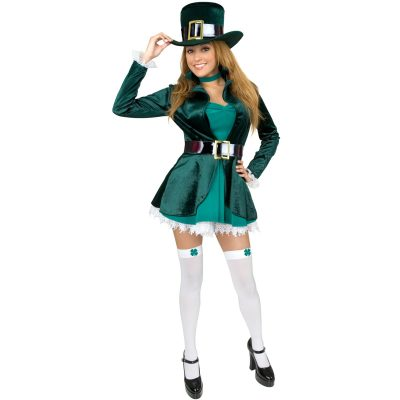 Sexy Leprechaun with Hat Plus Costume