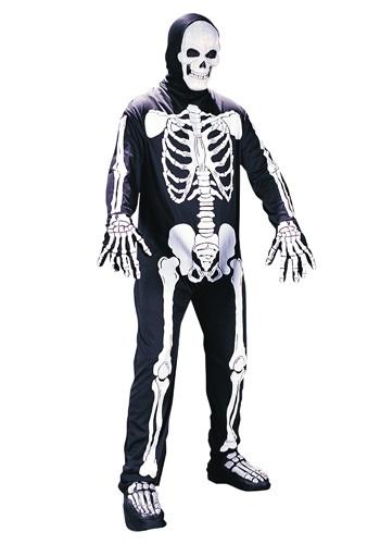 Skeleton Jumpsuit Costume