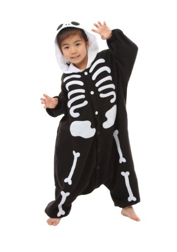 Skeleton Kids Costume Kigurumi