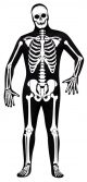 Skin Suit Skeleton Costume
