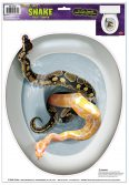 Snake Toilet Topper Peel 'N Place