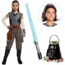 Star Wars Episode VIII: The Last Jedi Girl's Rey Costume