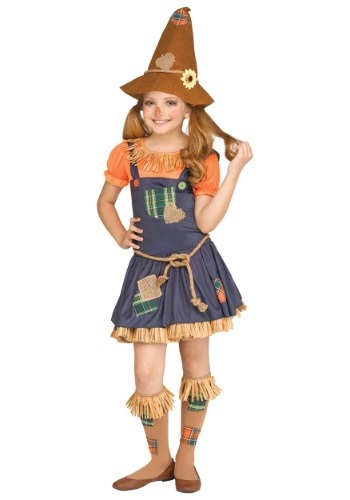 Sweet Scarecrow Girls Costume