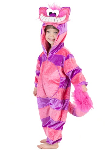 Toddler Cheshire Cat Jumpsuit Costume