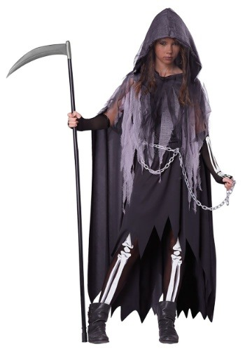 Tween Miss Reaper Costume