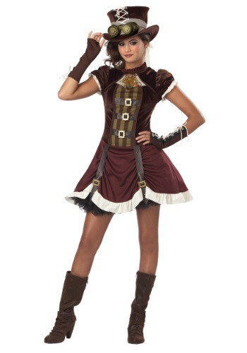 Tween Steampunk Girl Costume