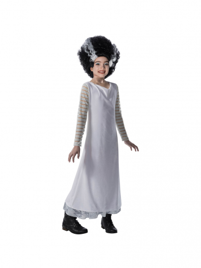 Universal Monsters Girls Bride Of Frankenstein Costume