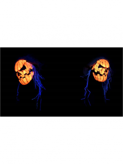 Uv Orange Glow Pumpkin
