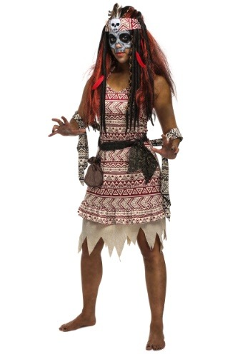 Voodoo Witch Plus Size Women's Costume
