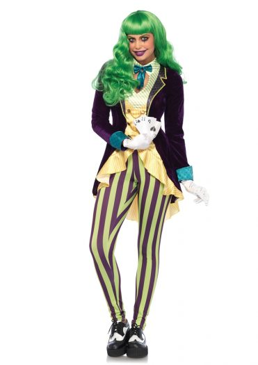 Wicked Trickster Jester Adult Womens Costume
