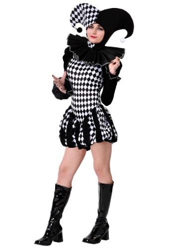 Women's Evil Clown Costume