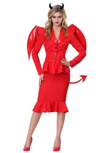 Women's Fierce Devil Costume