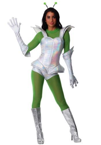 Women's Galactic Alien Babe Costume