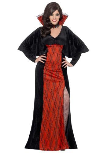 Women's Plus Size Vamp Costume